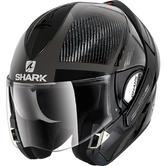 Shark Evoline Pro Carbon Dual Touch Dakfor Flip Front Motorcycle Helmet L Carbon Anthracite Silver