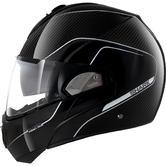 Shark Evoline Pro Carbon Flip Front Motorcycle Helmet XS Black Silver