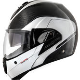 Shark Evoline Pro Carbon Flip Front Motorcycle Helmet XS Carbon Red Anthracite