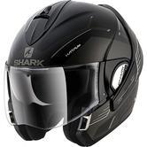 Shark Evoline S3 Hataum Mat Flip Front Motorcycle Helmet XS Matt Black Anthracite White