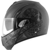 Shark Evoline S3 Mezcal Mat Flip Front Motorcycle Helmet M Matt Black Anthracite Silver
