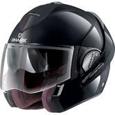 Shark Evoline S3 Uni Flip Front Motorcycle Helmet M Black