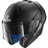 Shark Evo-One 2 Blank Mat Flip Front Motorcycle Helmet L Matt Black
