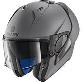 Shark Evo-One 2 Blank Mat Flip Front Motorcycle Helmet XS Matt Anthracite