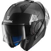 Shark Evo-One 2 Slasher Mat Flip Front Motorcycle Helmet M Matt Black Anthracite White