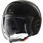 Shark Micro Blank Open Face Motorcycle Helmet S Black