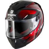 Shark Race-R Pro Carbon Deager Motorcycle Helmet XS Carbon Chrome Red