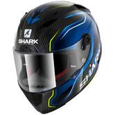 Shark Race-R Pro Carbon Guintoli Motorcycle Helmet XS Carbon Blue Yellow