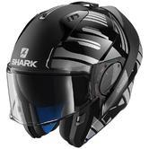 Shark Evo One Lithion 2 Flip-Up Motorcycle Helmet XS Anthracite Black