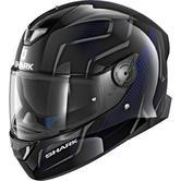 Shark Skwal 2 Flynn Motorcycle Helmet XS Black Anthracite Blue