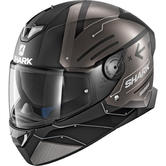 Shark Skwal 2 Warhen Mat Motorcycle Helmet XL Matt Black Anthracite