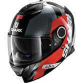 Shark Spartan Apics Motorcycle Helmet XS Black Red Anthracite