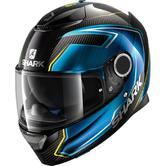 Shark Spartan Carbon Guintoli Motorcycle Helmet XXL Carbon Blue Yellow