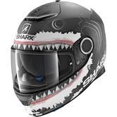 Shark Spartan Lorenzo White Shark Motorcycle Helmet XXL Black White Anthracite