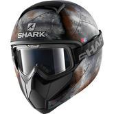 Shark Vancore Flare Mat Motorcycle Helmet S Matt Black Anthracite Orange
