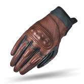 Shima Caliber Lady Women's Leather Motorcycle Gloves L Brown