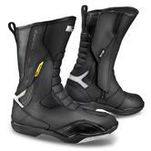 Shima RSX-5 Men Leather Motorcycle Boots 41 Black (UK 7)