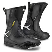 Shima RSX-5 Men Leather Motorcycle Boots 42 Black