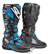 Sidi Crossfire 2 Motocross Boots 49 Blue Black (UK 13.5)