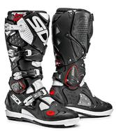 Sidi Crossfire 2 SRS Motocross Boots 40 Black White (UK 6.5)