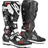 Sidi Crossfire 2 SRS Motocross Boots 48 Black White (UK 12.5)