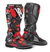 Sidi Crossfire 3 Motocross Boots 44 Black Red Fluo (UK 9.5)