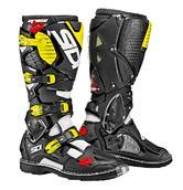 Sidi Crossfire 3 Motocross Boots 46 Black Yellow Fluo (UK 11)