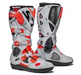 Sidi Crossfire 3 SRS Motocross Boots 42 Red Fluo Ash (UK 8)