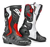 Sidi RoarR Motorcycle Boots 40 Black Red Fluo White (UK 6.5)