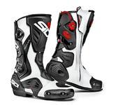 Sidi RoarR Motorcycle Boots 44 White Black (UK 9.5)