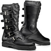 Sidi Scramble Rain Motorcycle Boots 44 Black (UK 9.5)