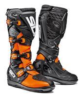 Sidi X-3 SRS Motocross Boots 41 Orange Fluo Black (UK 7)