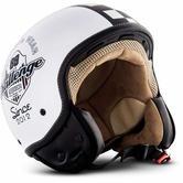 SOXON SP-301 Challenger Open Face Helmet XL White