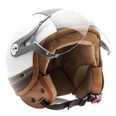 SOXON SP-325-URBAN Open Face Motorcycle Helmet XS White