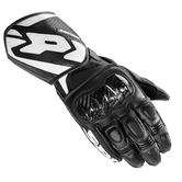 Spidi Carbo 1 Leather Motorcycle Gloves S Black