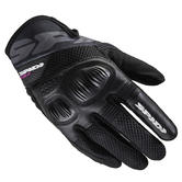Spidi Ladies Flash-R Evo Motorcycle Gloves M Black
