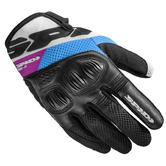 Spidi Ladies Flash-R Evo Motorcycle Gloves  XS Black Fuchsia