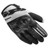 Spidi Ladies Flash-R Evo Motorcycle Gloves XS Black White