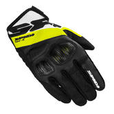 Spidi Flash-R Evo Motorcycle Gloves 3XL Black Fluo Yellow