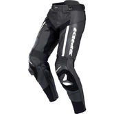 Spidi RR Pro Leather Motorcycle Trousers 46 Black White (UK 30)