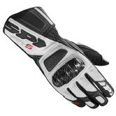 Spidi STR-5 Leather Motorcycle Gloves 3XL Black White