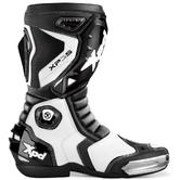 XPD XP3-S Motorcycle Boots 44 Black White (UK 10)
