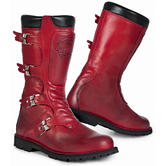 Stylmartin Continental Motorcycle Boots 43 Red (UK 9)