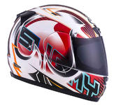 Suomy Apex Pike Full Face Motorcycle Helmet 3XL Red