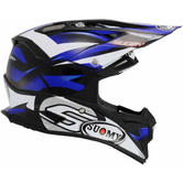 Suomy Alpha Motocross Helmet XS Blue
