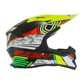 Suomy Alpha Pixel Motocross Helmet L Black Yellow
