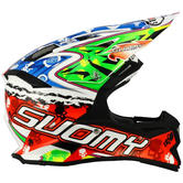 KSAL0007 - Suomy Alpha Motocross Helmet M Multicoloured Warrior