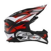 Suomy Alpha Motocross Helmet 2XL Red