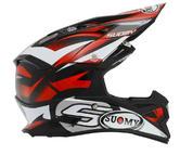 Suomy Alpha Motocross Helmet L Red
