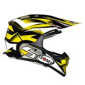 KSAL0005 - Suomy Alpha Motocross Helmet L Yellow